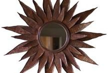 Mirrors / Reflect your rustic style with a truly unique mirror. Here are some of our favorite rustic mirrors, from the vintage inspired to the repurposed.  / by High Camp Home (HCH)