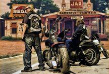 Sons of Anarchy / FX Network Series (SAMCRO) SOA / by Cheryl Desmarais