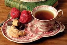 BEVERAGES: Tea Time / I love the idea of tea time. Here you will find a collection of pretty tea cups and saucers, table settings, and all things related to 'tea time.' / by Angela Thompson