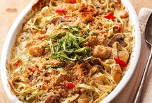 FOOD: Casseroles / Casserole recipes make clean-up easy. One pot cooking.  / by Angela Thompson