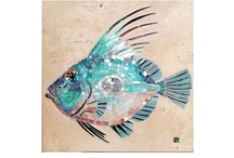 Fish in Art / Celebrating the beauty of life under the sea / by Sherry Varga