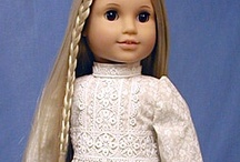 18 inch doll 1960's  1970's / by Gale Mathis