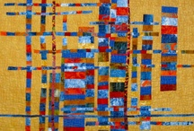 Textile art / Some unique artwork made with textiles / by Sherry Varga