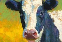 Cow art / by Gale Mathis