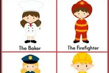 Labor Day/Community Helpers....September / by Carla M.