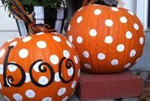 pumpkins&halloween  / by Victoria DiPiazza