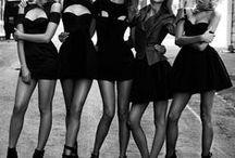 "Little Black Dress  / ""One is never over-dressed or underdressed with a Little Black Dress."" Karl Lagerfeld / by Valeria Scherbatsky"