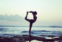 yoga inspiration / Inspiring yoga poses and scenes. / by Kate (Cookie + Kate)