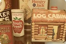 Vintage tins and signs / by Ruth Parker