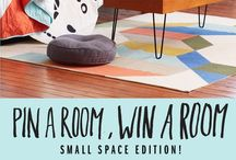 UO x Pin a room, win a room / We could use a serious update to our current #smallspace...please help a broke newlywed out, #UrbanOutfitters! / by Kacy Karlen