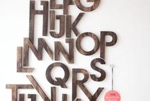 typography / by Patti Barnatt