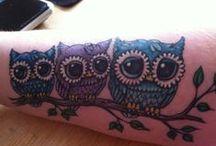 tattoos / by Sam Schrepfer