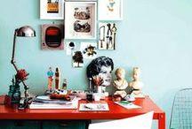 CREATIVE WORKSPACES + STORAGE / Creative Workspaces + Storage. Celebrity workspaces, wardrobes & storage options. Office.  / by Allura Maison