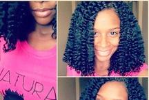 Hair I Love!!! / by Jasmine Mahomes