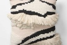 pillows + rugs / by Sarah Dickerson