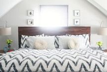 bedroom + accents / by Sarah Dickerson