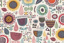 Patterns / by Anne-Francesca Bossaert for StudioZomooi.nl