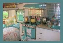 Glamping with My HHH / my dream vintage travel trailer / by Saving the Best for Last ☮❤♫Deb♫❤☮