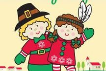 Elf Magic Thanksgiving / Our Elf Magic Elves love all things Thanksgiving - from delicious holiday recipes to turkey crafts for kids. Gobble. Gobble! / by Elf Magic