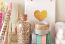 """Glitter + Grit / """"we consider glitter a color of the rainbow"""" - Junky Gypsies / by PBteen"""