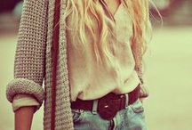 Style / My fashion sense currently and future inspirations/ideas!  / by Wave K