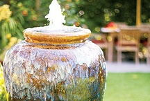 Garden - Birdbaths, Fountains, & Planters / A random collection of all things pertaining to birdbaths, fountains, and planters for my outside space. / by StoreSixty Six
