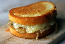 Grilled cheese? Yes, please! / by Raquel