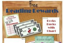 Reading Rewards / Free printable reading rewards to encourage kids to read / by Reward Charts