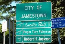 Jamestown NY / This the little city where I live.  I invite you to come visit and discover all that we have to offer.   / by Susan Hedberg