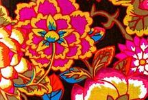 Only Flower Art / Floral art and floral patterns. / by Marle R
