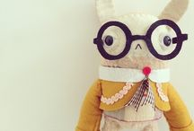 dolls plush softies / by nat donnelly