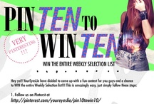 Pin10towin10 / by YOUREYESLIE Clothing