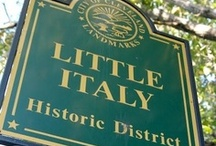 Little Italy's of America / Italian-American heritage from coast to coast / by Maggiano's Little Italy