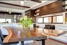 Wood in Design / Imaginative ideas for wood in your home. / by Jackson Design