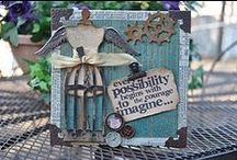 Tim Holtz ness' / All things Tim Holtz.   / by Youniquely Karen