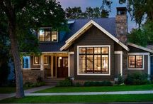 Home Design / Home exteriors, home design, porches, exterior colors, landscaping,  / by Becky Scott