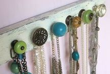 Jewelry Display Ideas / Fun ways to store and display jewelry! / by Cherry Dots