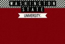 WSU Go Cougs! / WSU Cougars Scrapbook Supplies, Stamps and Decor Washington State University, Pullman WA / by Youniquely Karen