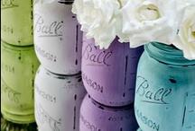 Crafts - Mason Jars / by Kimberly Howard