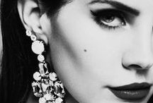 "L a n a . D e l . R a y / ""I believe in the person I want to become."" - Lana Del Rey <3 / by Debi Spillan"