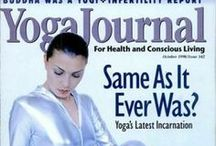 Throwback Thursday Classics / Our favorite covers fitting for that #TBT moment. / by Yoga Journal