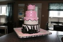 Pam's Party Cakes, Cake designs / by Pamela Webster