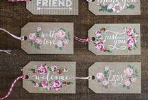 Etiquettes à imprimer / printable labels / On trouve aussi d'autres liens dans les catégories Noël - impressions gratuites et Pâques - impressions gratuites / by Sophie Bonheur