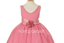 Flower Girl Dresses: NancyAugust.com / Nancy August provides high quality childrens formal wear designed for weddings and many other special events. All of our products are hand-picked by our buyers that maintain and cultivate positive relationships with our manufacturers to ensure that we get the first pick when new styles become available. Our products endure a grueling inspection individually to confirm that all of our products pass the test in quality and craftsmanship. Through the styles featured on our website, we want to provide fun and fashionable childrens formal wear that everyone can admire and adore!  Our company prides itself on providing our beloved customers with quality dresses, suits, and accessories at the most affordable and competitive prices. We strive on building relationships and providing our customers with the best service as it is humbling and inspiring when they write to us sharing stories and photos from their special events.  / by Nancy August Flower Girl Dresses