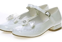 Kids Shoes: NancyAugust.com  / Who doesn't love kids shoes, especially flower girl shoes. Let us help you put the finishing touches on your flower girl dress or ring bearer tuxedo with a great pair of fancy kids dress shoes. Our flower girl shoes and baby shoes is sure to put the wow in your little angels ensemble.  / by Nancy August Flower Girl Dresses