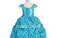 Princess Dresses: NancyAugust.com / by Nancy August Flower Girl Dresses