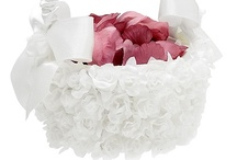 Flower Girl Baskets: NancyAugust.com / Let NancyAugust.com help you put the finishing touches on your flower girl dress. Our flower girl basket collection is sure to wow the crowd as she is walking down the aisle at the wedding ceremony. We make it easy for you to complete the look because we have a complete selection of wedding accessories for the youngest members of your wedding party or for any special occasion.  / by Nancy August Flower Girl Dresses