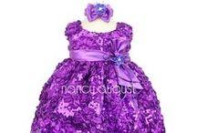 Purple Baby Dresses / by Nancy August Flower Girl Dresses