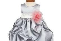 Silver Baby Dresses / by Nancy August Flower Girl Dresses