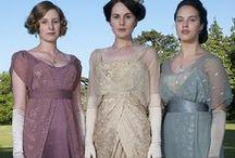 Downton Abbey Finery / Women's clothing from Downton Abbey / by Paula Sanders